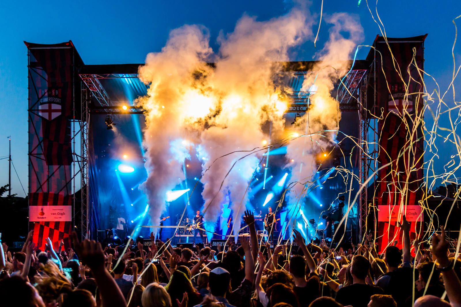 Sfeerimpressie festival voor Smile Licht en Geluid Utrecht b.v.